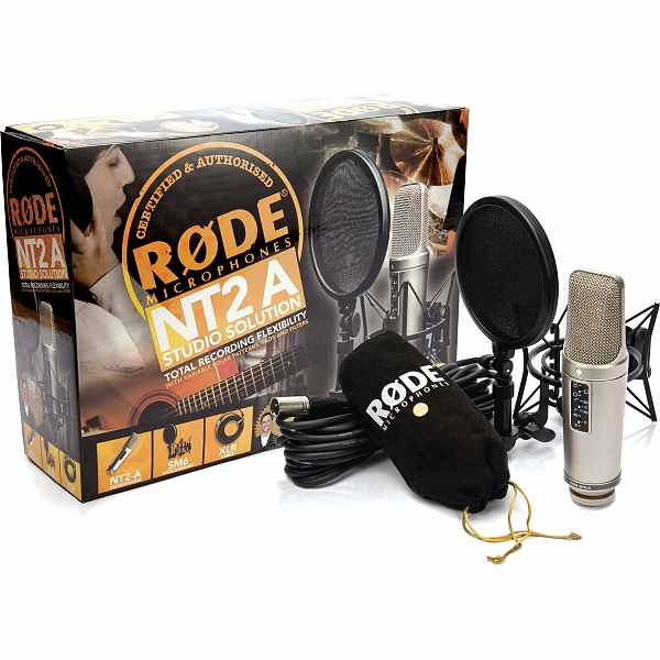 Mικρόφωνα Shure, Numark, Beyer, AMS, Rode RODE NT-2A Studio Solution Bundle