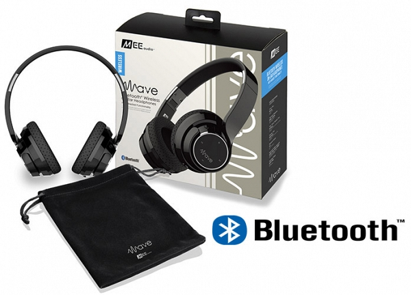Ακουστικά Mee Audio WAVE  AF-36 BLACK , STEREO BLUETOOTH, MICROPHONE, REMOTE, VOLUME CONTROL
