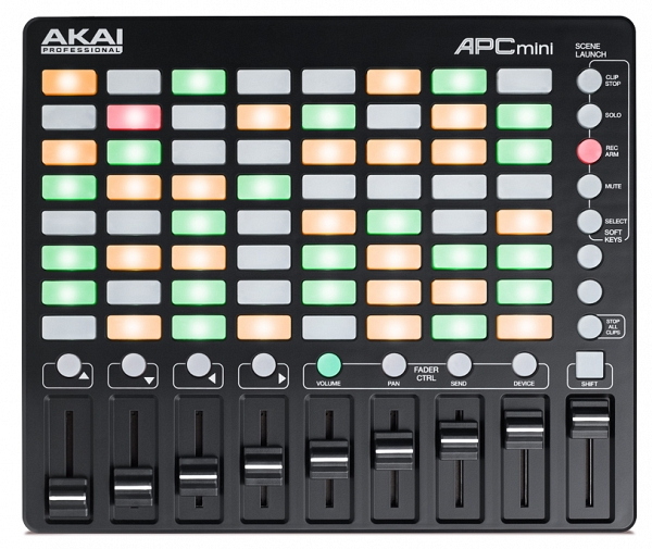 AKAI APC-Mini Ableton Mini Controller