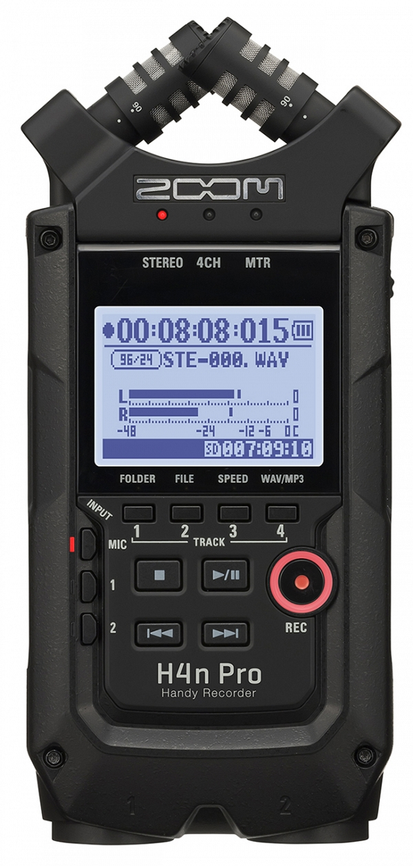 ZOOM Handy Recorders & Multi Track Recorder ZOOM H4N PRO BLACK Handy Recorder