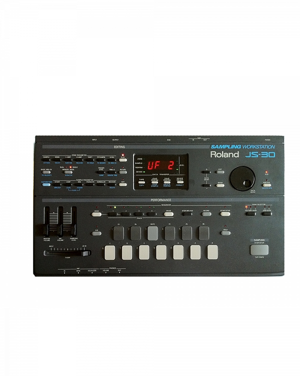 Roland Discontinued Vintage Products Roland JS-30 Sampling Workstation