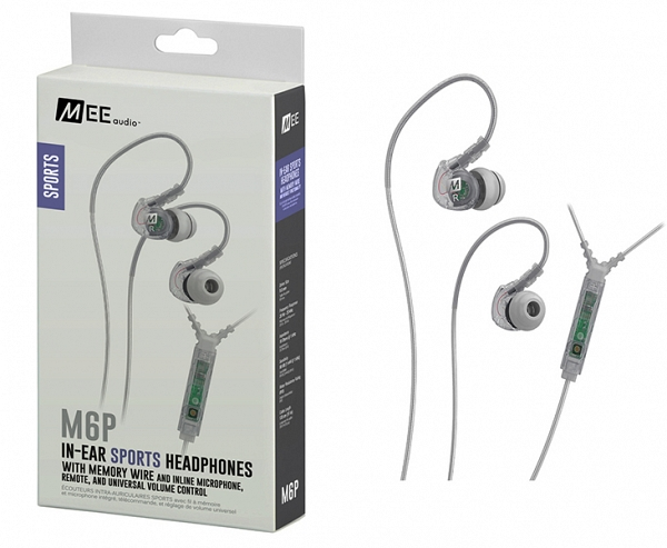 MEE Audio Ακουστικά in-ear M6P2-CL-MEE, MICROPHONE, REMOTE,VOLUME CONTROL