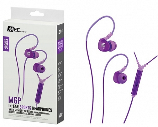 MEE Audio Ακουστικά in-ear M6P2-PP-MEE, MICROPHONE, REMOTE,VOLUME CONTROL