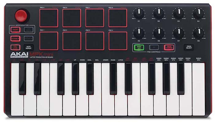 AKAI MPK Mini mkII Midi Keyboard