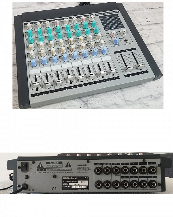 Roland Discontinued Vintage Products Roland RX-82 Analog Stereo Mixer