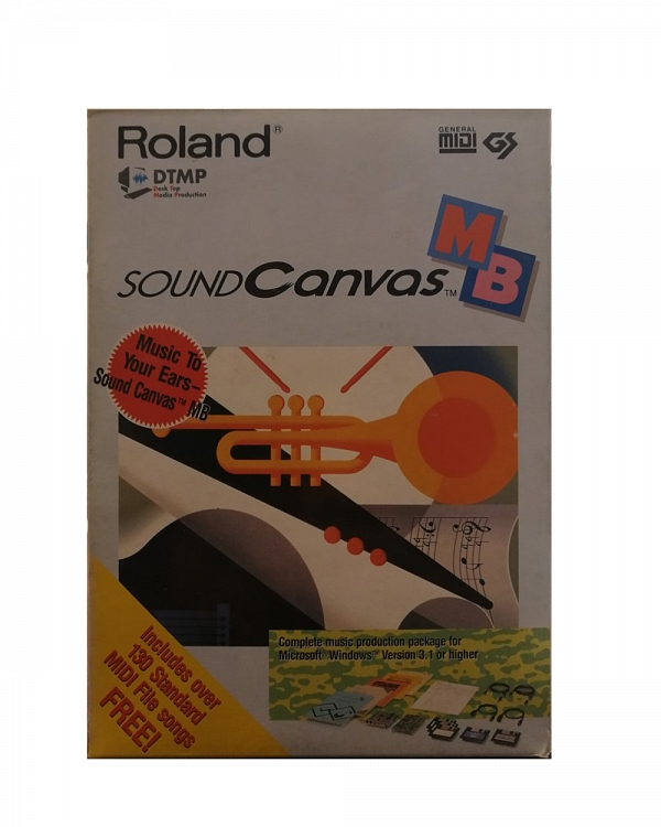Roland Discontinued Vintage Products Roland Sound Canvas SCM-15
