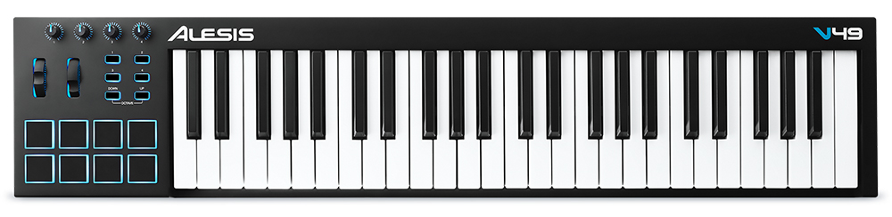 ALESIS V-49 Midi Keyboard full-sized πλήκτρα και USB