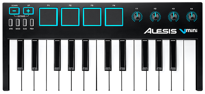 ALESIS V-Mini Midi Keyboard USB