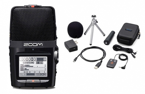 ZOOM Handy Recorders & Multi Track Recorder Zoom H2n Handy Recorder. Μαζί με το πακέτο APH-2N Accessory package.