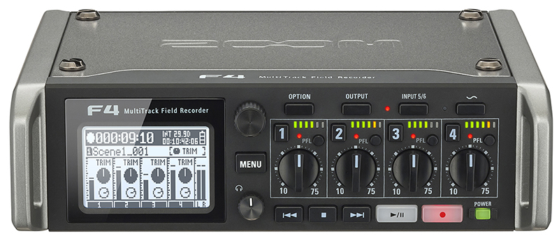 ZOOM F4 Multi Track Field Recorder