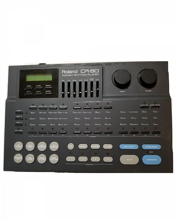 Roland Discontinued Vintage Products Roland CR-80