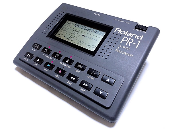 Roland Discontinued Vintage Products Roland PR-1 midi sequencer