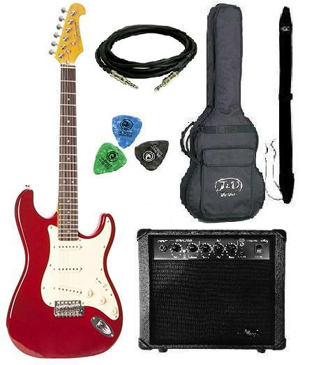 ������� ���������� ������� ������ Jack and Danny Pack- 9 Strat Red