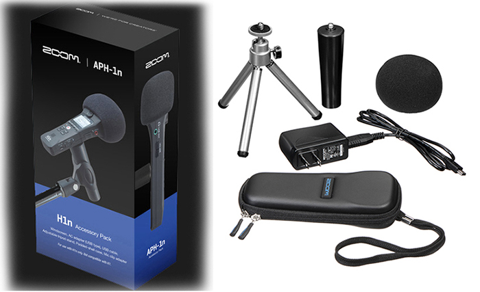 ZOOM Ψηφιακές συσκευές εγγραφής φωνής, Handy Recorders,Video-cameras ZOOM APH-1n Accessory package Specifically for the H1n