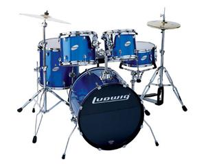 Ludwig LC-125 Accent Combo Power Blue. Σέτ Ντράμς