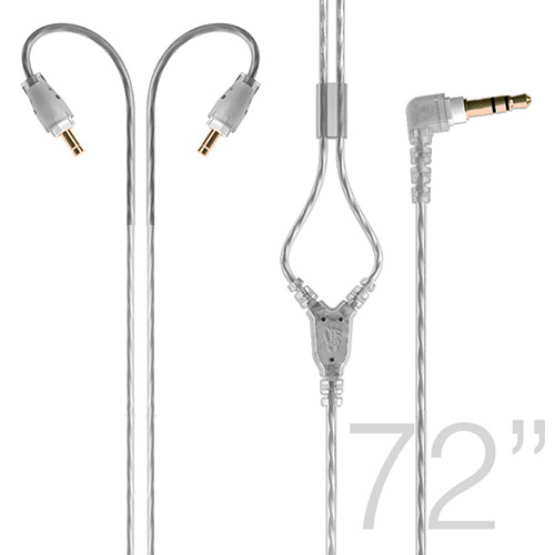 Ακουστικά in-ear και Headphone MEE Audio Καλώδιο Mee Audio ST72-M6 PRO CLEAR, EXTENED, STEREO STEREO AUDIO CABLE 1,8m.