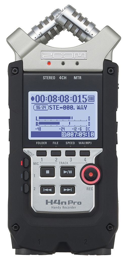 ZOOM Handy Recorders & Multi Track Recorder ZOOM H4N PRO Handy Recorder