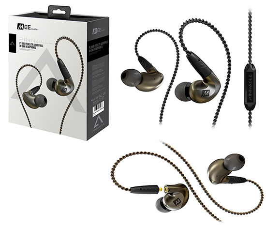 MEE Audio Ακουστικά in-ear  PINNACLE P1 HIGH FIDELITY AUDIOPHILE IN-EAR HEADPHONES
