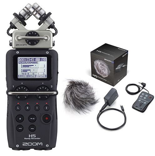 ZOOM Handy Recorders & Multi Track Recorder ZOOM H5 Handy Recorder. Μαζί με το πακέτο APH-5 Accessory package.