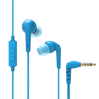 Ακουστικά in-ear και Headphone MEE Audio MEE Audio Ακουστικά in-ear RX18P BLUE MICROPHONE-REMOTE, Enhanced Bass