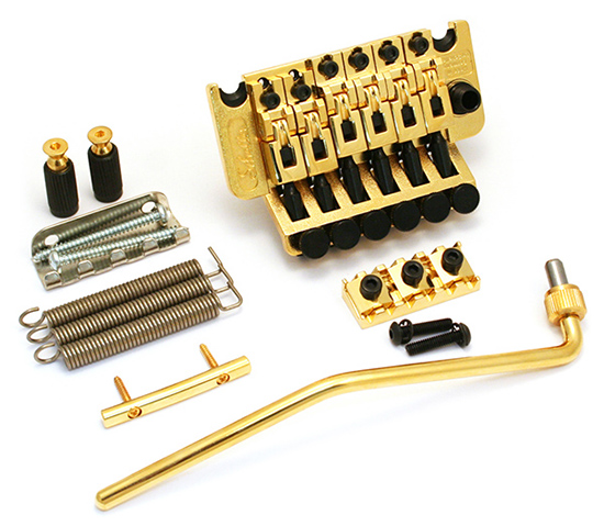 Schaller tremolo Double Locking FR complete set with Nut R2.