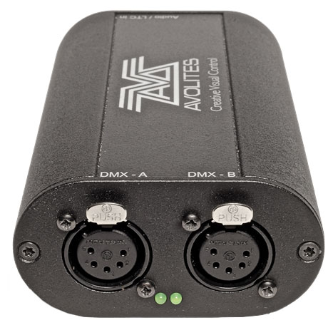 Avolites T2 USB Interface. Lighting Control Software with USB Dongle