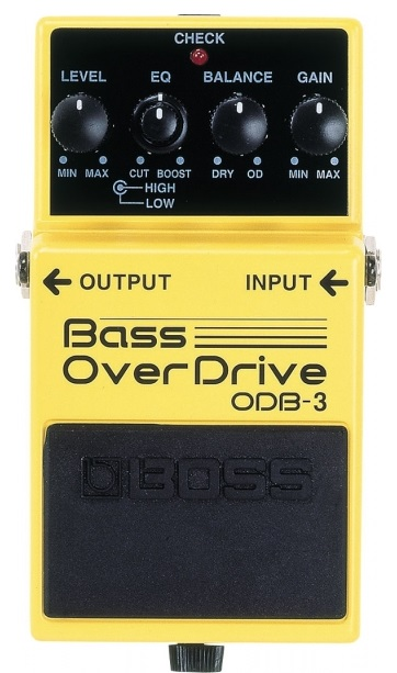 BOSS ODB-3 Bass Over Drive πετάλι