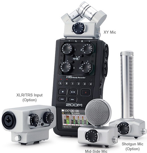 ZOOM Handy Recorders & Multi Track Recorder ZOOM H6 Handy Recorder