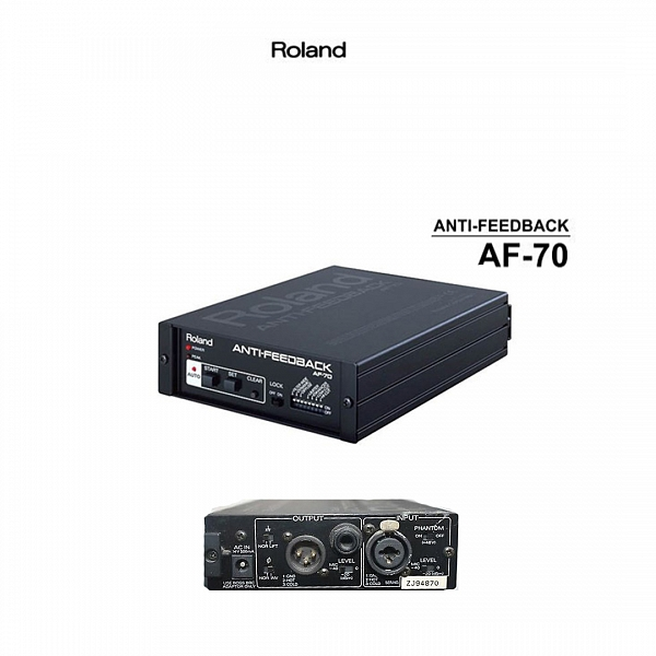 Roland AF-70 Anti-feedback Processor / Feedback Eliminator